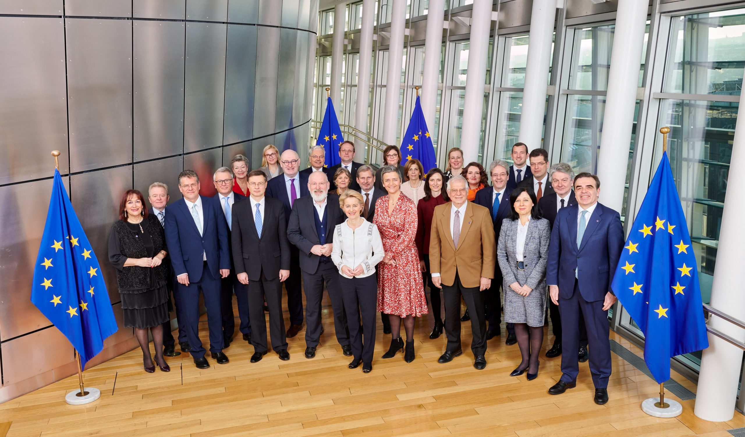 The new European Commission, led by President Ursula von der Leyen, started its term on 1 December 2019.
